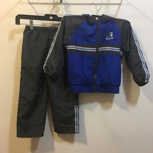 Boy's track suit and matching t-shirt size 4T